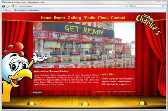 New Chicken Charlies Website