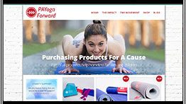 Yoga Website Design geometiles e-commerce WordPress Website by CPD | A Top Rated Web Design Agency in San Diego