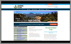 Sierra Club WordPress Website geometiles e-commerce WordPress Website by CPD | A Top Rated Web Design Agency in San Diego