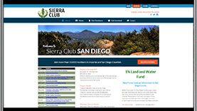 Sierra Club WordPress Website geometiles e-commerce WordPress Website by CPD | A Top Rated Web Design Agency in San Diego