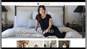 Lux Loungewear Shopify E-Commerce Website by by CPD | A Top Rated Web Design Agency in San Diego